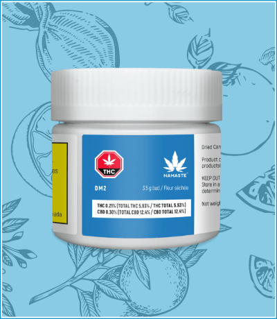 Namaste DM2 Cannabis Dried Flower