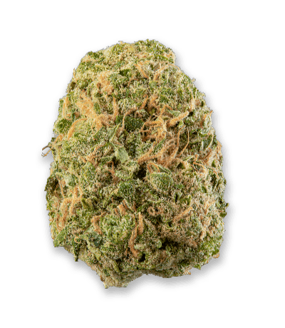 Namaste Ultra Sour Cannabis Dried Flower - Bud Closeup