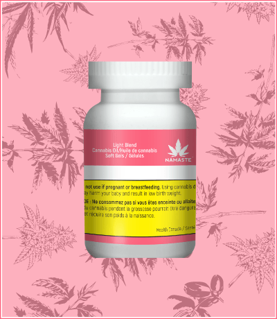 Namaste Light Blend Cannabis Oil Softgels