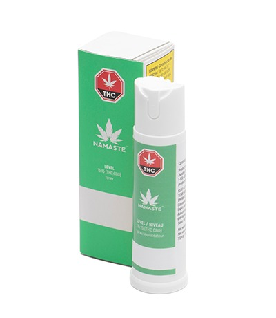 Namaste Level Cannabis Oral Spray - Bottle with Package