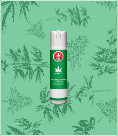 Namaste Balanced Cannabis Oil Oral Spray