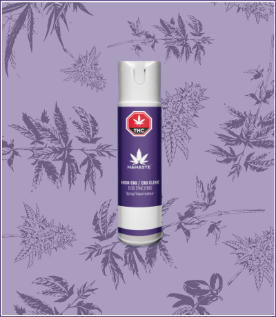Namaste High CBD Cannabis Oil Oral Spray